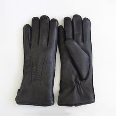 Factory price of shearling lining women deer gloves
